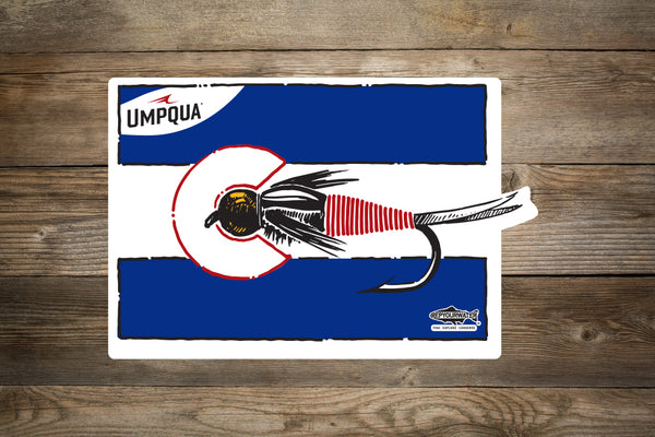 RYW x Umpqua Colorado Copper John Sticker