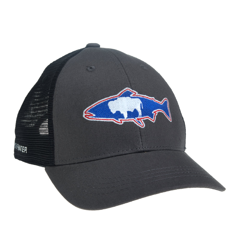 Wyoming Hat Gray/Black