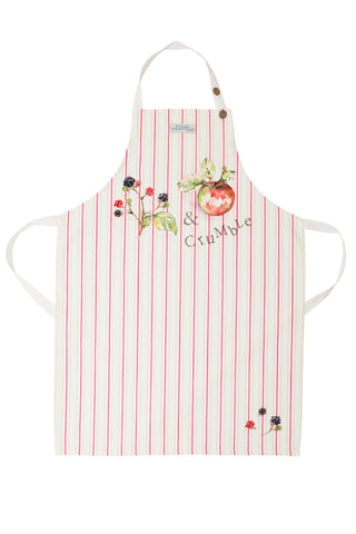 Blackberry and Apple Crumble Adult Size Apron