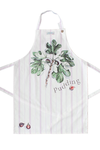 Nicole Phillips England Figgy Pudding Apron adult size