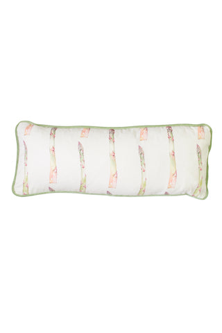 Nicole Phillips England Asparagus medium rectangle cotton cushion