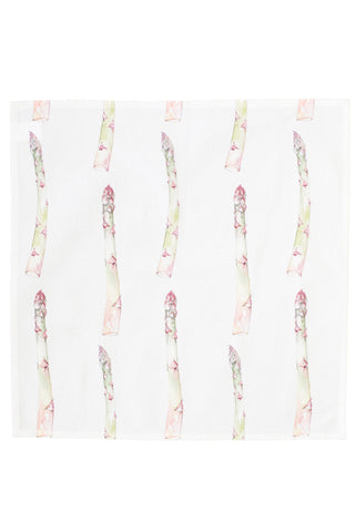 Nicole Phillips England Asparagus napkins set of four