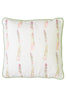 Nicole Phillips England Asparagus large square cotton cushion