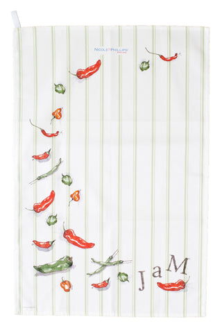 Chilli Jam Tea Towel