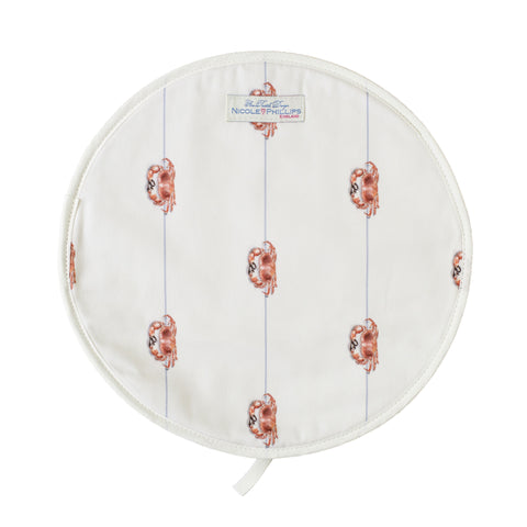 Nicole Phillips England Crab on a line Hob cover