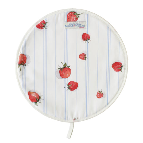 Nicole Phillips England Strawberries Hob Cover
