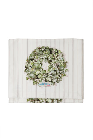 Eucalyptus Wreath Christmas Table Runner