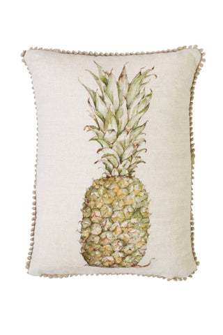 cole Phillips England Pineapple Linen small rectangle cushion