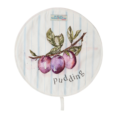 Plum Pudding Hob Cover