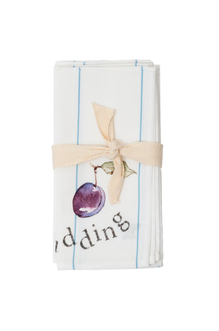 Plum Pudding Napkins