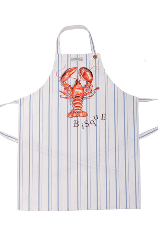 Nicole Phillips England Lobster Bisque apron adult size