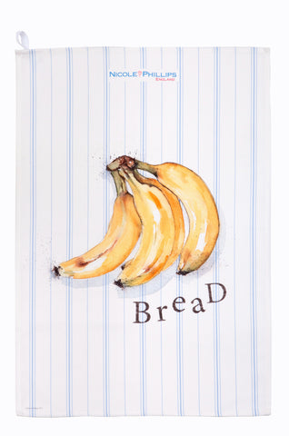 Nicole Phillips England Banana Bread Tea Towel front