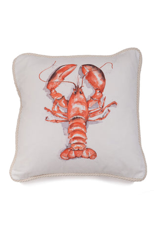 Nicole Phillips England Lobster Square Cotton Large