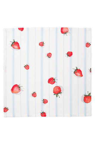 Nicole Phillips England Strawberry Napkins set of 4