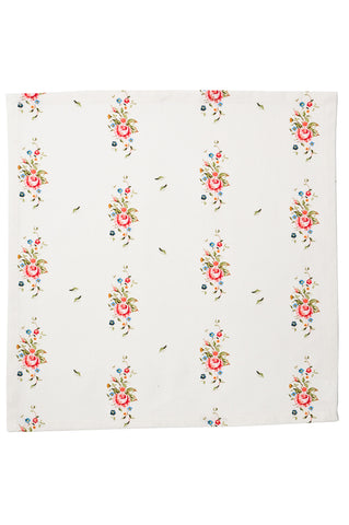 Nicole Phillips England Stone Trailing Roses Napkins set of 4