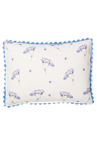 Nicole Phillips England Geranium Rectangle Cushion