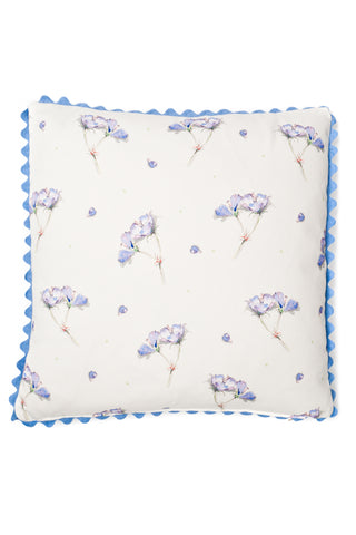 Nicole Phillips England Geranium Square Cushion