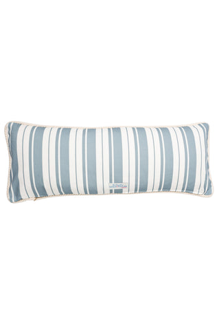 Nicole Phillips England Kissing Lobseter Long Rectangle Cushion Cotton back