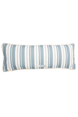 Nicole Phillip England Kissing Mackerel Long Rectangle Cushion Cotton back