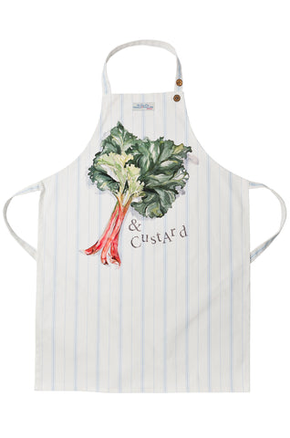 Nicole Phillips England Rhubarb and Custard Apron