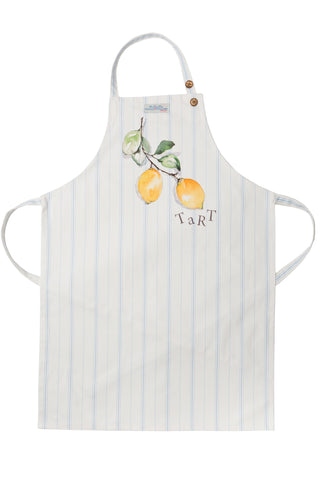 Nicole Phillips England Lemon Tart Adult Size Apron