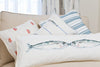 Kissing Mackerel Long Rectangle Cushion (Cotton)