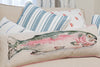 Nicole Phillips England Rainbow Trout Long Rectangle Cushion Linen