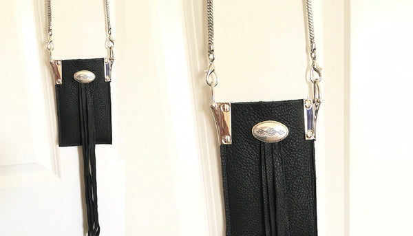 Brandi black Wallet and crossbody bag