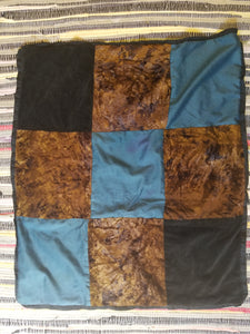 Double-sided Velvet and Cotton Blanket