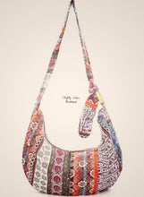 Load image into Gallery viewer, Boho Zip-up Cross-body/ Shoulder Bag