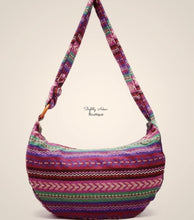 Load image into Gallery viewer, Boho Zip-up Cross-body/Shoulder Bag