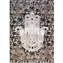Load image into Gallery viewer, Cotton Hamsa Tapestry 210x140 cm