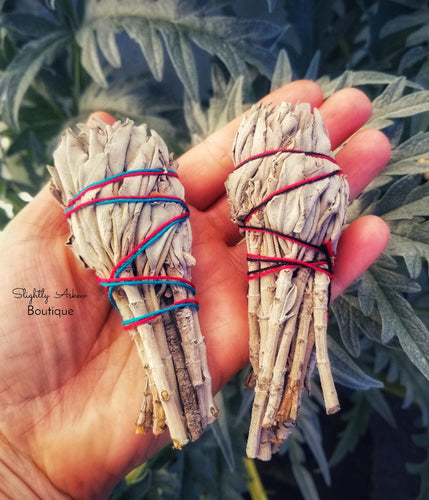 Californian White Sage Smudging Stick - 10cm