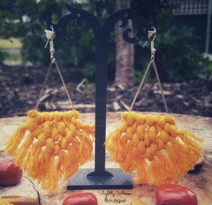 Stunning Macrame Earrings