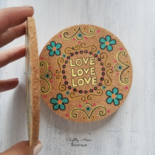 Load image into Gallery viewer, Beautiful Cork Coasters