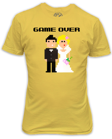 Game Over Wedding Pixels