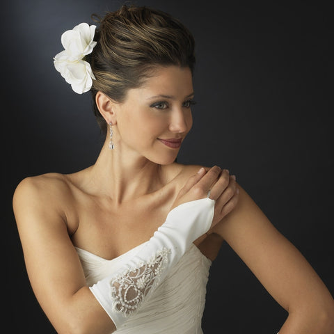 Embroidered Fingerless Bridal Gloves - MyGowns.com