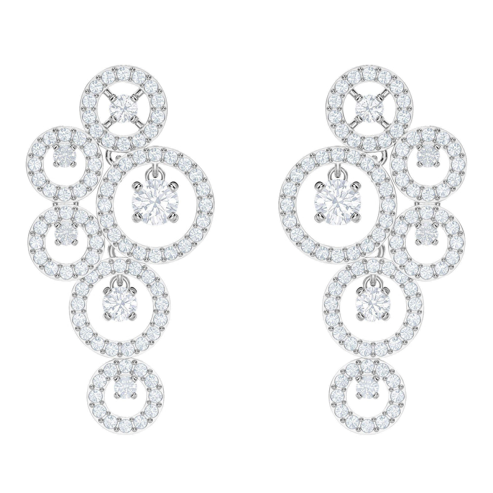 creativity-pierced-earrings-white-rhodium-plating