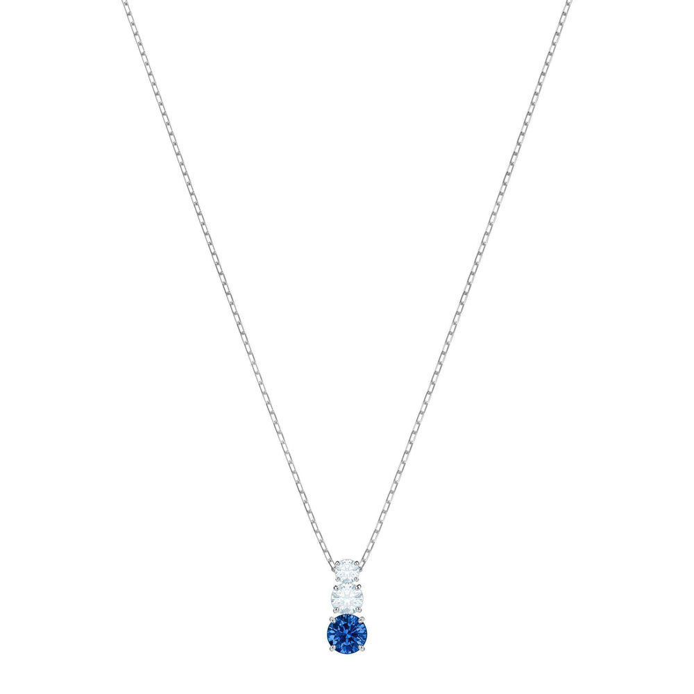 attract-trilogy-round-pendant-blue-rhodium-plating