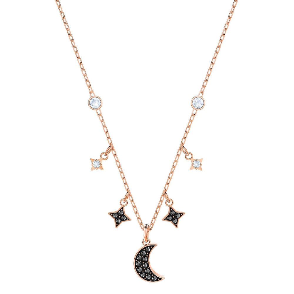 duo-moon-necklace-black-rose-gold-plating