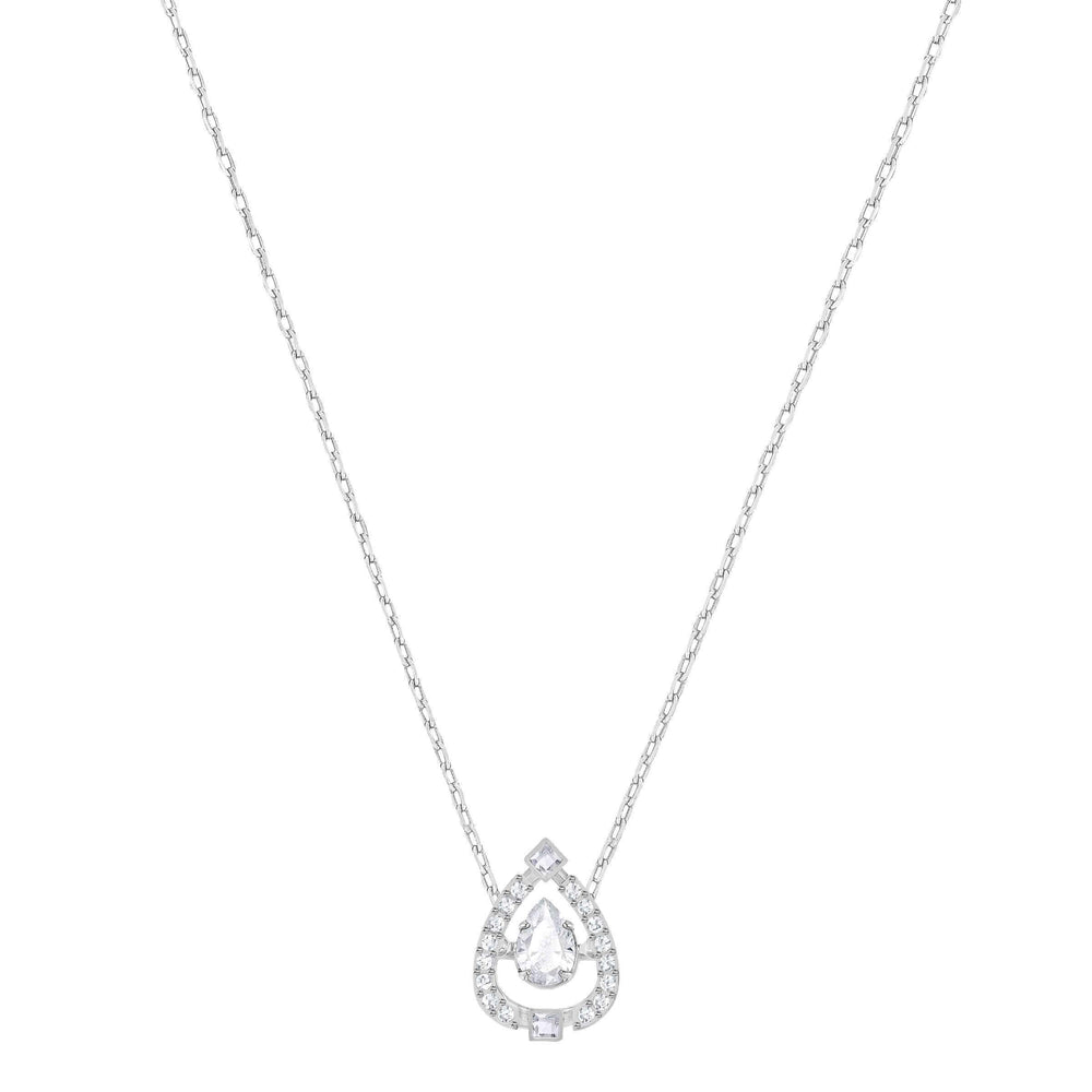 sparkling-dance-flower-necklace-white-rhodium-plating
