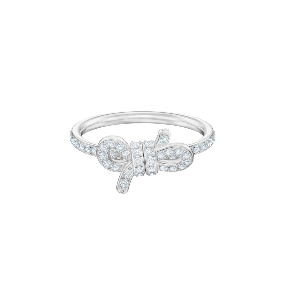 lifelong-small-bow-ring-white-rhodium-plating