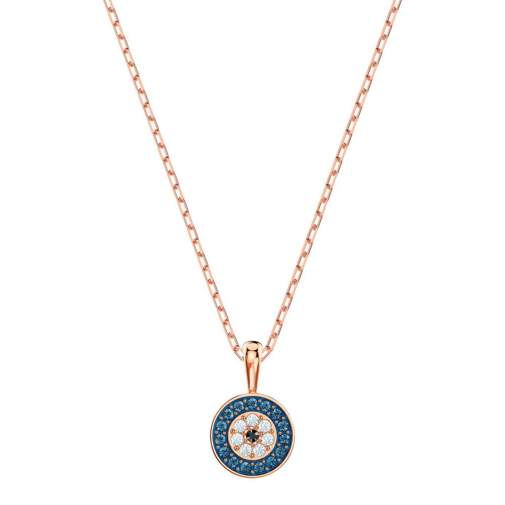 luckily-pendant-multi-colored-rose-gold-plating