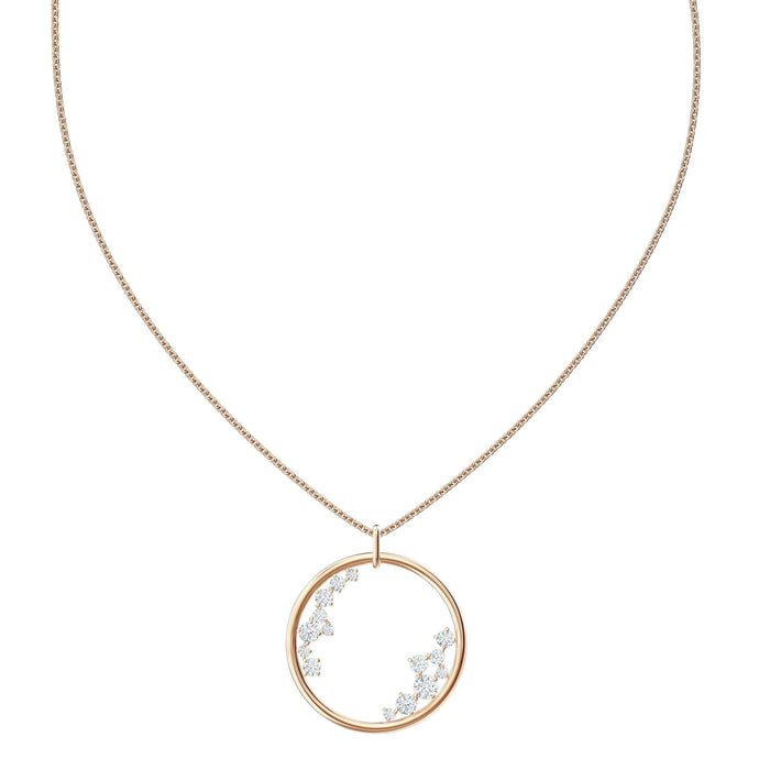 north-pendant-white-rose-gold-tone-plated