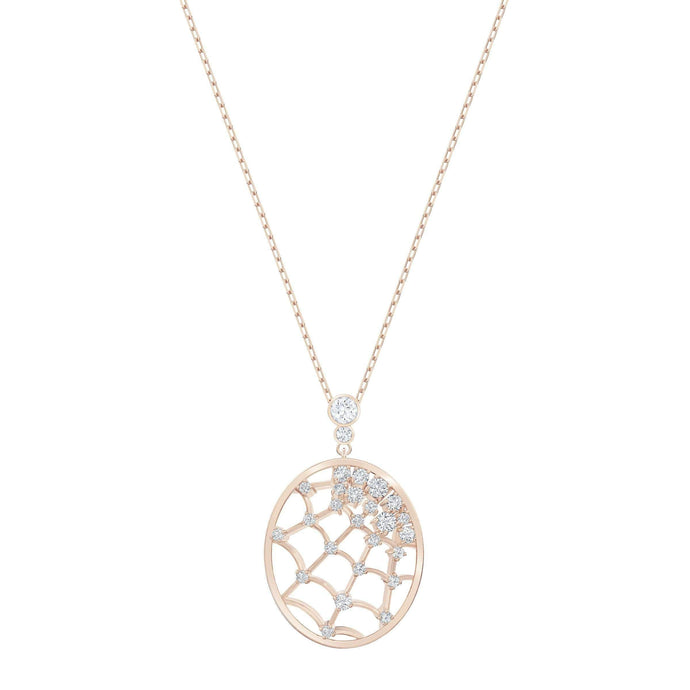 precisely-pendant-white-rose-gold-tone-plated