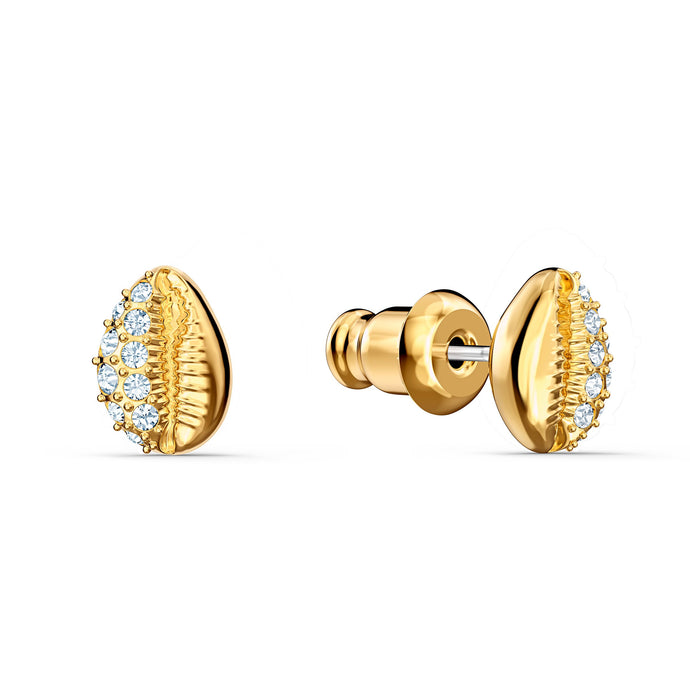 shell-stud-pierced-earrings-white-gold-tone-plated