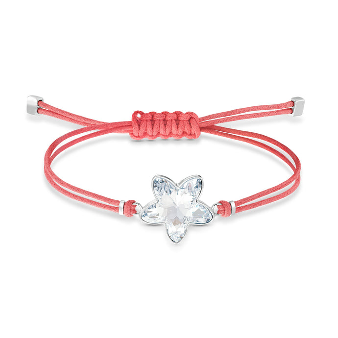 swarovski-power-collection-flower-bracelet-red-stainless-steel