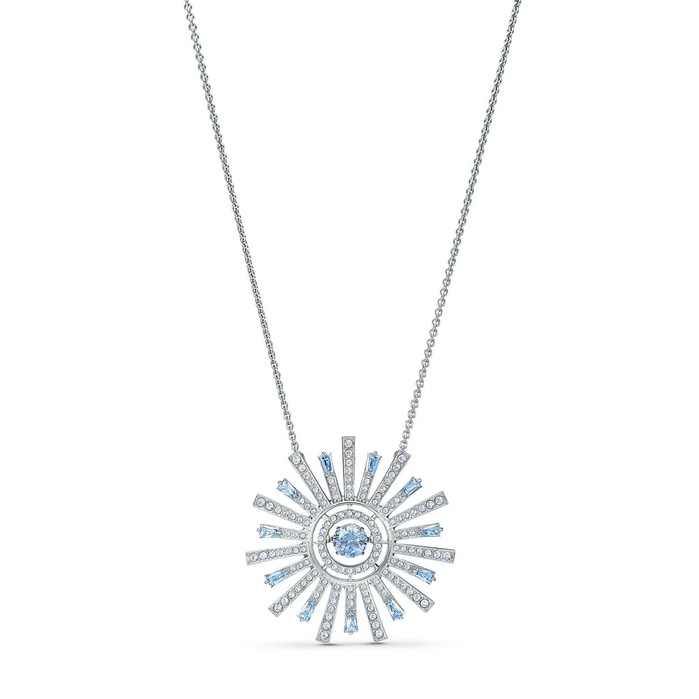 sunshine-necklace-blue-rhodium-plated