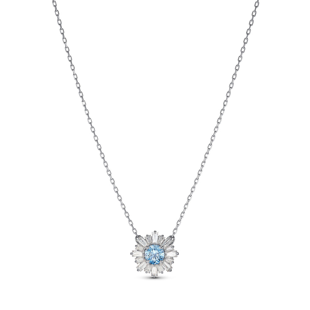 sunshine-pendant-blue-rhodium-plated