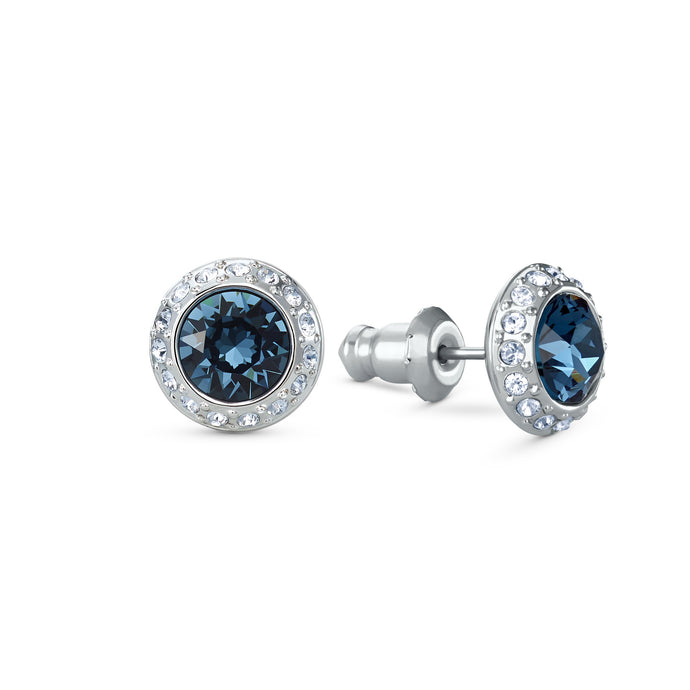 angelic-stud-pierced-earrings-blue-rhodium-plated